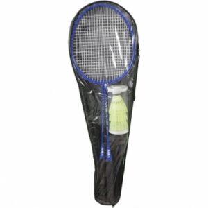 Σετ Ρακετών Badminton AMILA 605 με Πολύχρωμα Φτερά