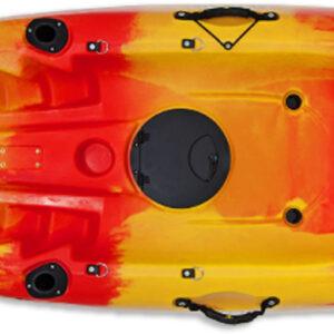 Kayak Conger (κόκκινο/κίτρινο λωρίδες)