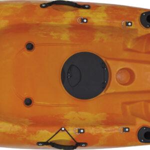 Kayak Conger (κίτρινο/πορτοκαλί μίξη)