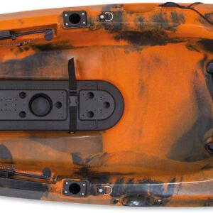 Kayak Dace pro angler 10ft (πορτοκαλί/μαύρο)