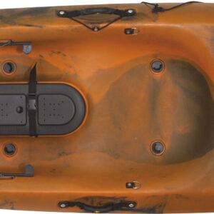 Kayak Dace pro angler 12ft (πορτοκαλί/μαύρο)