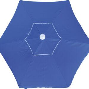 Ομπρέλα Παραλίας 2m 6 Ακτίνες Μπλε
