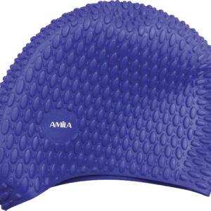 Σκουφάκι Κολύμβησης AMILA Long Hair Bubbles