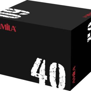 Πλειομετρικό κουτί με μαλακή επιφάνεια (40x50x60)