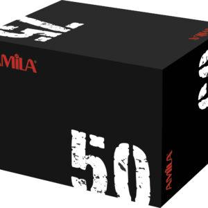 Πλειομετρικό κουτί με μαλακή επιφάνεια (50x60x75)