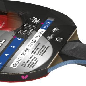 Ρακέτα Ping Pong Butterfly Timo Boll Black