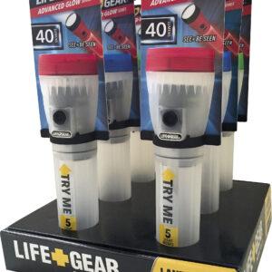 Φακός Life Gear 4 Λειτουργιών 40lm