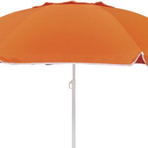 Ομπρέλα Παραλίας 2m 8 Ακτίνες Πορτοκαλί