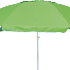 Ομπρέλα Παραλίας 2m 8 Ακτίνες Πράσινη