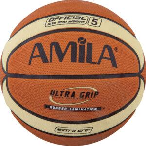 Μπάλα Basket AMILA Cellular Rubber No. 5