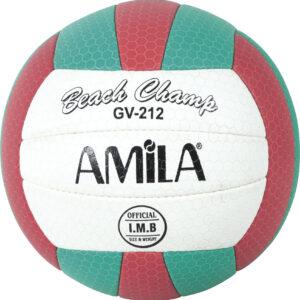 Μπάλα Beach Volley AMILA GV-212 Red-Petrol No. 5