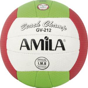 Μπάλα Beach Volley AMILA GV-212 Green Νο. 5