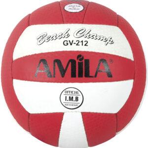 Μπάλα Beach Volley AMILA GV-212 Red Νο. 5