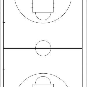 Ταμπλό Προπονητή Basket Διπλής Όψης