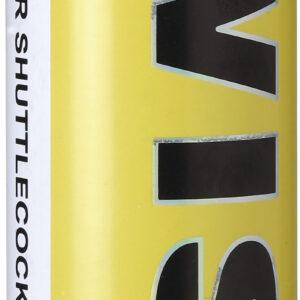 Μπαλάκια Badminton Wish με Λευκά Shuttlecock (12 τμχ)
