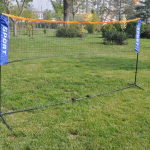 Δίχτυ Badminton με Στύλους