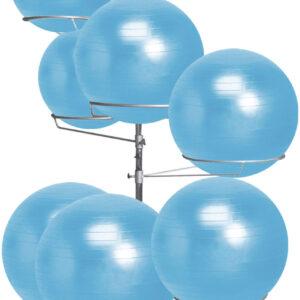 Gym Ball Rack (Ρυθμιζόμενο)