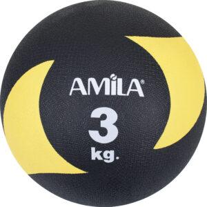 Μπάλα AMILA Medicine Ball Original Rubber 3kg