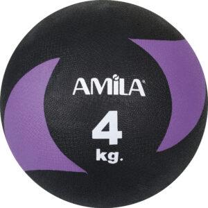 Μπάλα AMILA Medicine Ball Original Rubber 4kg