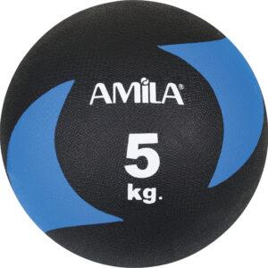 Μπάλα AMILA Medicine Ball Original Rubber 5kg