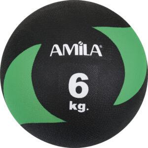 Μπάλα AMILA Medicine Ball Original Rubber 6kg