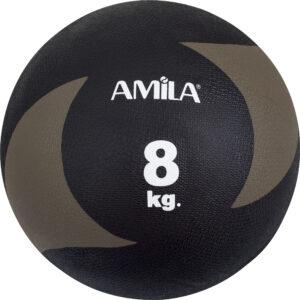 Μπάλα AMILA Medicine Ball Original Rubber 8kg