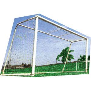 Δίχτυ Ποδοσφαίρου Πλεχτό 3mm (Ζεύγος)