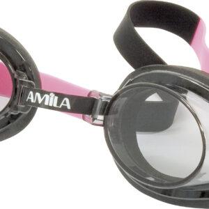 Γυαλιά Κολύμβησης AMILA 522AF Ροζ/Μαύρα