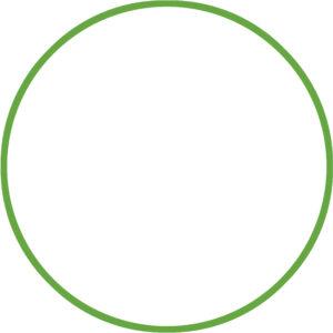 Χούλα-Χουπ 60cm - Φ18mm - 120gr, Πράσινο