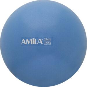 Μπάλα Pilates 19cm, Μπλε, bulk