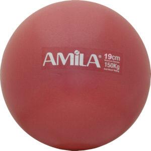 Μπάλα Pilates 19cm, Κόκκινη, bulk