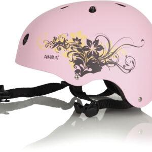 Προστατευτικό Κράνος Ροζ ABS Medium