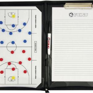 Ντοσιέ Ταμπλό Προπονητή Basket Μαγνητικό FOX40 25,5x35,5cm
