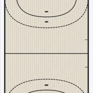 Ταμπλό Προπονητή Handball FOX40 25,5x40,5