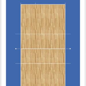 Ταμπλό Προπονητή Volley FOX40 25,5x40,5