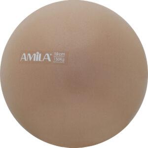 Μπάλα Pilates 19cm, Χρυσή, σε κουτί