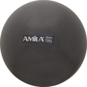 Μπάλα Pilates 19cm, Μαύρη, σε κουτί