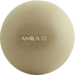 Μπάλα Pilates 19cm, Χρυσή, bulk