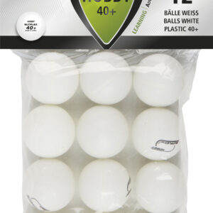Μπαλάκια Ping Pong Sunflex Hobby PVC 12 Τεμάχια