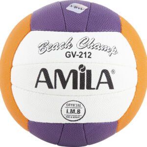 Μπάλα Beach Volley AMILA GV-212 Purple-Orange Νο. 5